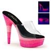 DELIGHT-601UVS Clear/Neon Multi Pink Rhinestones